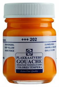 Talens Gouache Słoik 50ml Deep Yellow