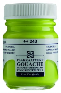 Talens Gouache Słoik 50ml Greenish Yellow