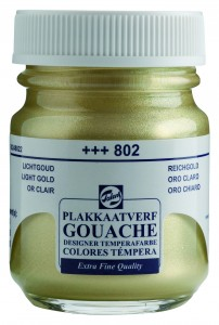Talens Gouache Słoik 50ml Light Gold