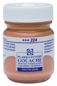 Talens Gouache Słoik 50ml Naples Yellow Red