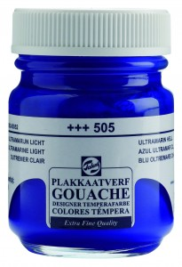 Talens Gouache Słoik 50ml Ultramarine Light