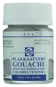 Talens Gouache Słoik 50ml Warm Grey