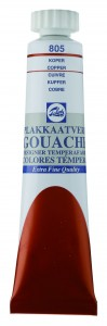 Talens Gouache Tubka 20ml Copper