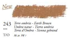 Sennelier Pastela Olejna Earth Brown